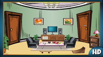 Screenshot of Pleasant Living Room Escape