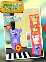 Screenshot of Pet Eye Doctor -  Fun Game