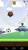 Screenshot of Football Keepy ups Soccer Game