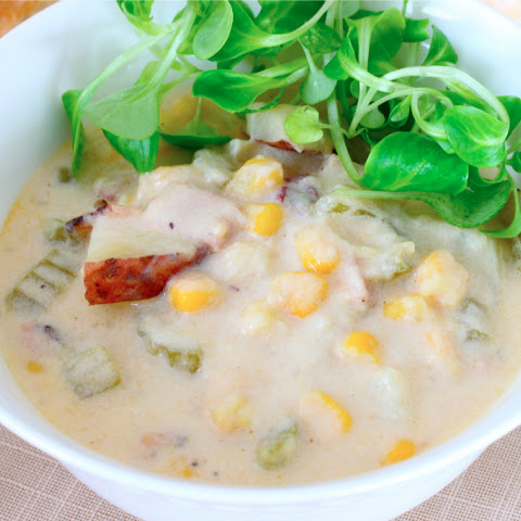 Ham, Corn and Potato Chowder