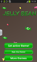 Screenshot of Jelly Bean GO Keyboard