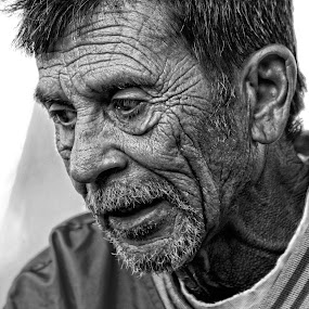 Roadmap of my life by Robert Daveant - People Portraits of Men ( life, homeless, people, man, portrait,  )