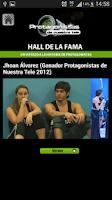 Screenshot of Protagonistas de Nuestra Tele
