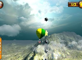 Screenshot of Hot Air Balloon - Flight Game
