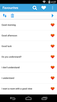 Screenshot of Learn Thai - Phrasebook