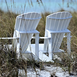 Anna Maria Island 18 by Terry Saxby - Artistic Objects Furniture ( chair, terry, florida, anna-maria island, beach, usa, saxby, nancy )