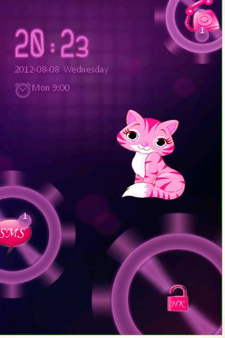 Kitty Live Wallpaper Go Locker