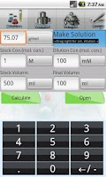 Screenshot of Axel Biolab-Calculator