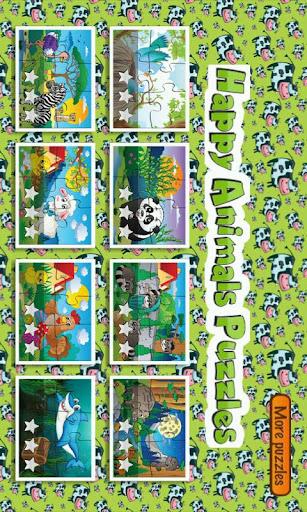 Happy Animals Puzzles