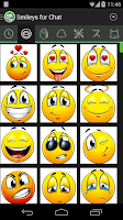 Screenshot of Smileys and Memes for Chat