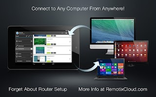 Screenshot of Remotix VNC RDP Remote Desktop