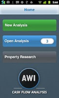 Screenshot of Real Estate Cash Flow Analysis