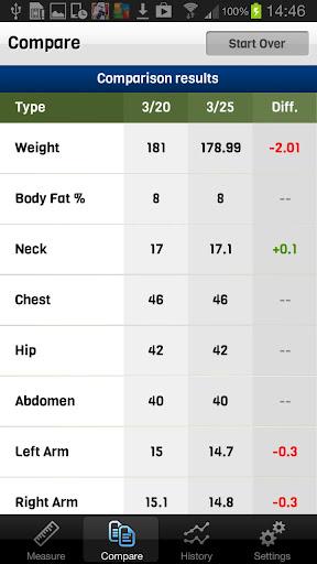 Body Tracker - screenshot