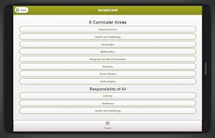Screenshot of Curriculum for Scotland