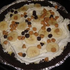 Peanut Butter-Chocolate Banana Cream Pie