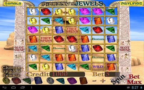 PHARAOH'S JEWELS Slot Machine - screenshot
