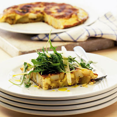 Tortilla With Rocket & Parmesan