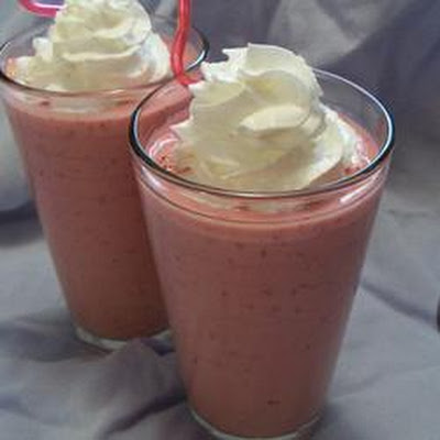 Quenching Creamy Raspberry Punch