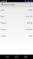 Screenshot of Money Tracker Free