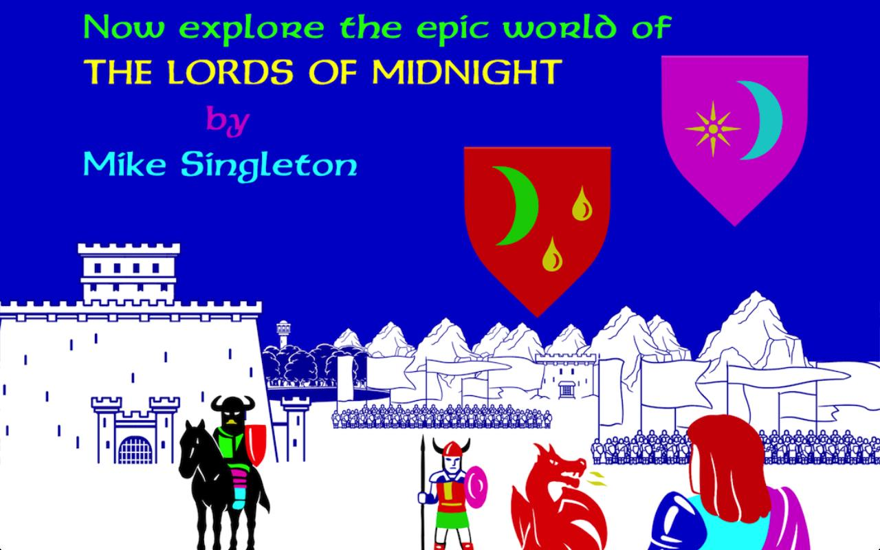 The Lords of Midnight Screenshot 1