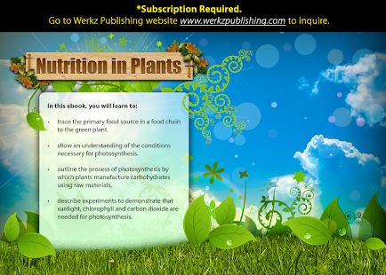 Nutrition in Plants - screenshot