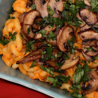Roasted Sweet Potato Mac and Cheese