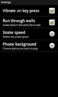 Screenshot of Classic Snake 1997