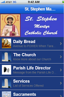 St Stephen Church App - screenshot