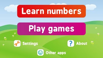 Screenshot of Mathematics and numbers kids