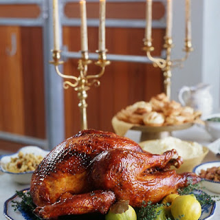 Roast Turkey with Quince Glaze
