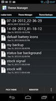 Screenshot of Theme Manager ★ root