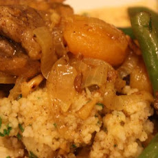 Chicken Tagine With Pine-Nut Couscous