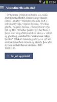 Screenshot of Orð í tíma töluð