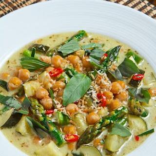 Asparagus Curry Coconut Milk Recipes