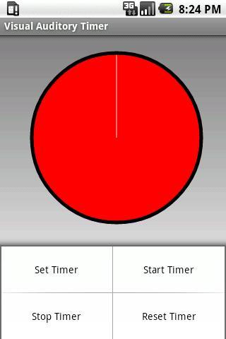 Visual Auditory Timer