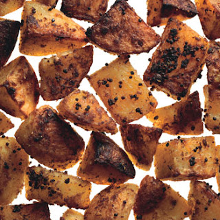 Mustard and Coriander Roasted Potatoes