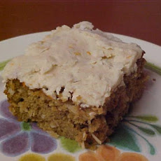 Caribbean Sweet Potato Rum Cake With Butter Rum Frosting