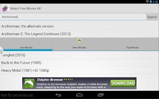 Screenshot of Watch Free Movies HD MovieTube