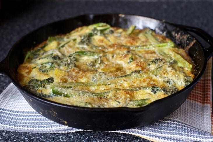 Potato and Broccolini Frittata Recipe | Yummly