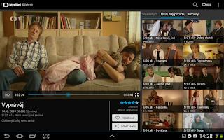 Screenshot of iVysílání České televize