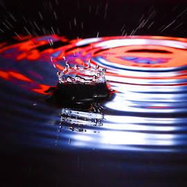 Dark splash by Anthony Doyle - Abstract Water Drops & Splashes