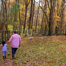 by Deborah Arin - People Family ( fall, color, colorful, nature )
