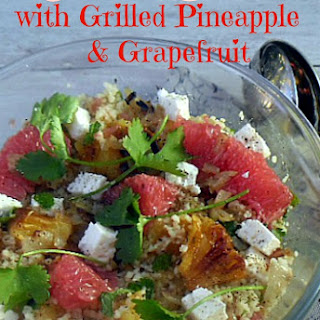 COUSCOUS SALAD WITH GRILLED PINEAPPLE AND GRAPEFRUIT