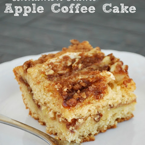 Cinnamon Crumb Apple Coffee Cake
