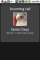 Screenshot of Fake-Call Me Pro - Xmas Santa