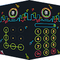 AppLock Theme Nightclub APK for Bluestacks