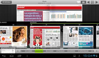 Screenshot of Kiosco Clarín