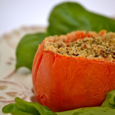 Stuffed Tomato Chicken