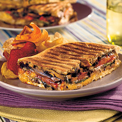 Marinated Portobello Panini