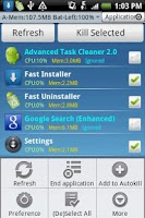 Screenshot of Advanced Task Cleaner 2.0